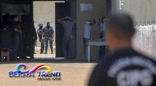 Heboh…Video Baku Pembunuhan Pada Sel Brasil Telah Beredar Luas Di Jalanan