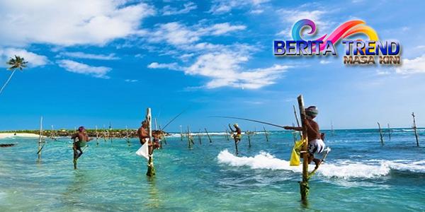 Teknik Memancing Ala Sri Lanka Kini Berubah Menjadi Objek Wisata Para Turis
