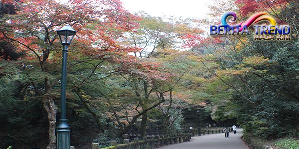 Indahnya Suasana Senja Hari Hanya Bisa Kamu Dapatkan Ketika Berada Di Osaka
