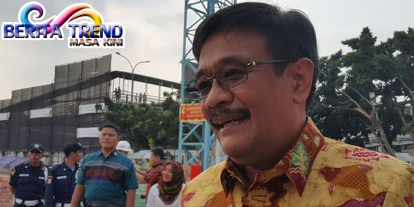 Djarot Mengungkapkan Penataan Trotoar Sudirman-Thamrin Tidak Membuat Macet