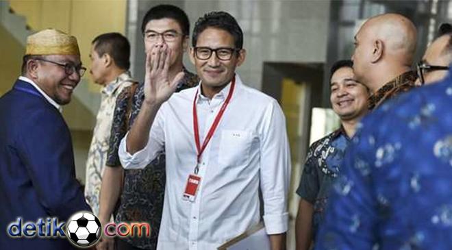 Sandiaga Diperiksa KPK Tentang Proyek PT DGI dan Nazaruddin