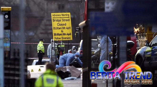 Serangan London, Saksi Mengatakan Ada Seorang Pria Yang Membawa Pisau Dan Ada 6 Orang Korban Yang Berjatuhan