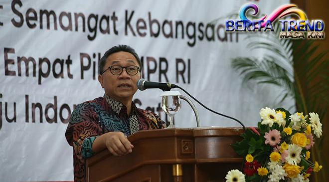 Ketua MPR Memberikan 3 Catatan untuk 3 Tahun Kepemimpinan Jokowi-JK