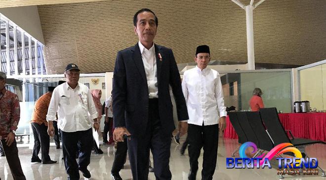 TGB Menerima Arahan dari Jokowi Mengenai Penanganan Gempa Lombok 7 SR