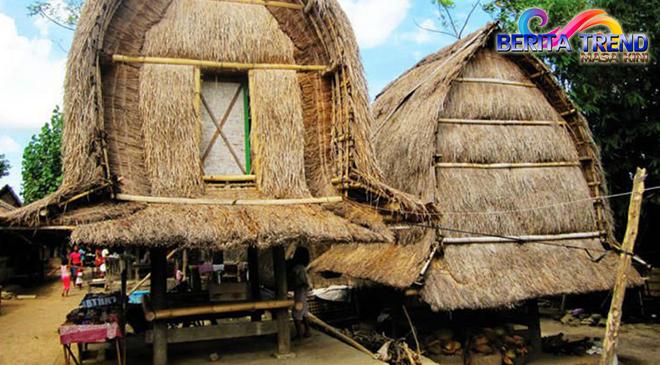 Terdapat Rumah Anti Gempa di Lombok