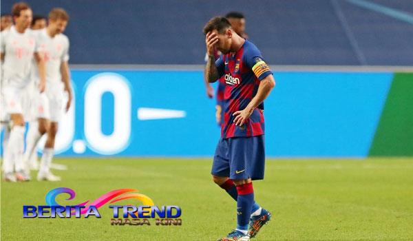 Messi: Saya Tak Bahagia dan Ingin Pergi dari Barcelona