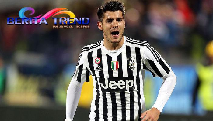 Pesan Manis Alvaro Morata di Juventus Sekarang